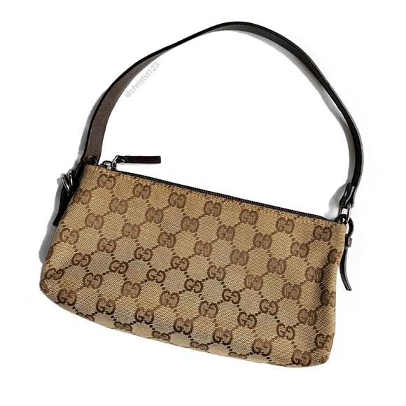 7d21ca5efa009 Gucci Handbags - Gucci Vintage Monogram Canvas Mini Bag